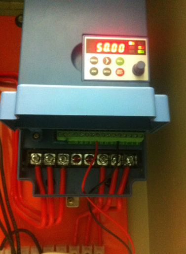 440 volt inverter fault setting