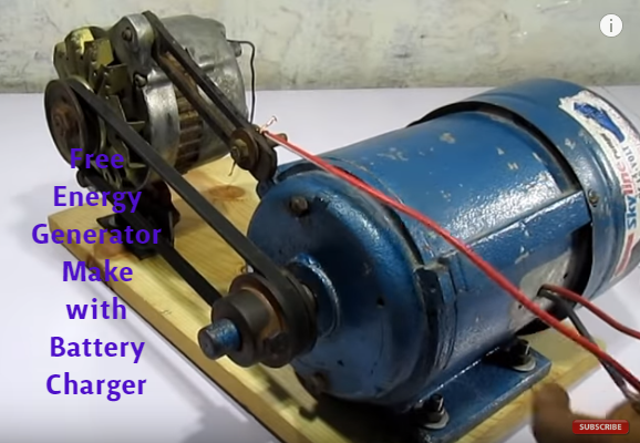 Free Energy Generator How To Make Free Energy With Car Battery Charger