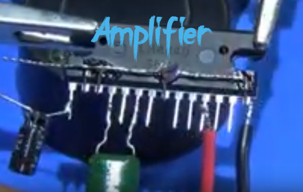 How To Make Amplifier