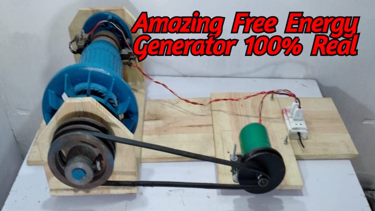 How To Make Free Energy By Magnets  New Electricity Generator