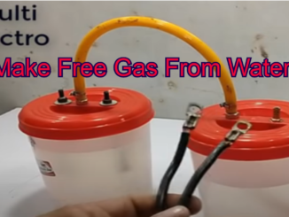 make free gas from water