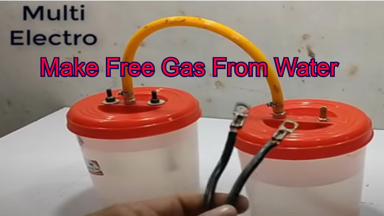 Free Gas From Water