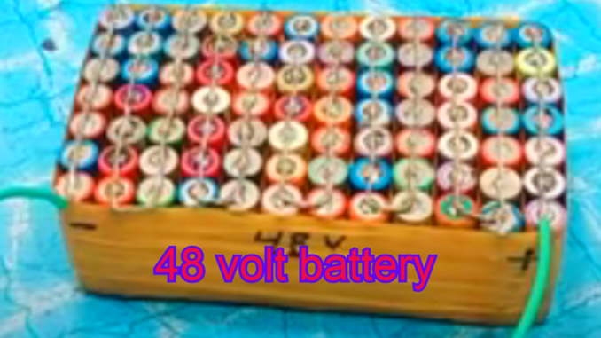 how to make electric bike battery
