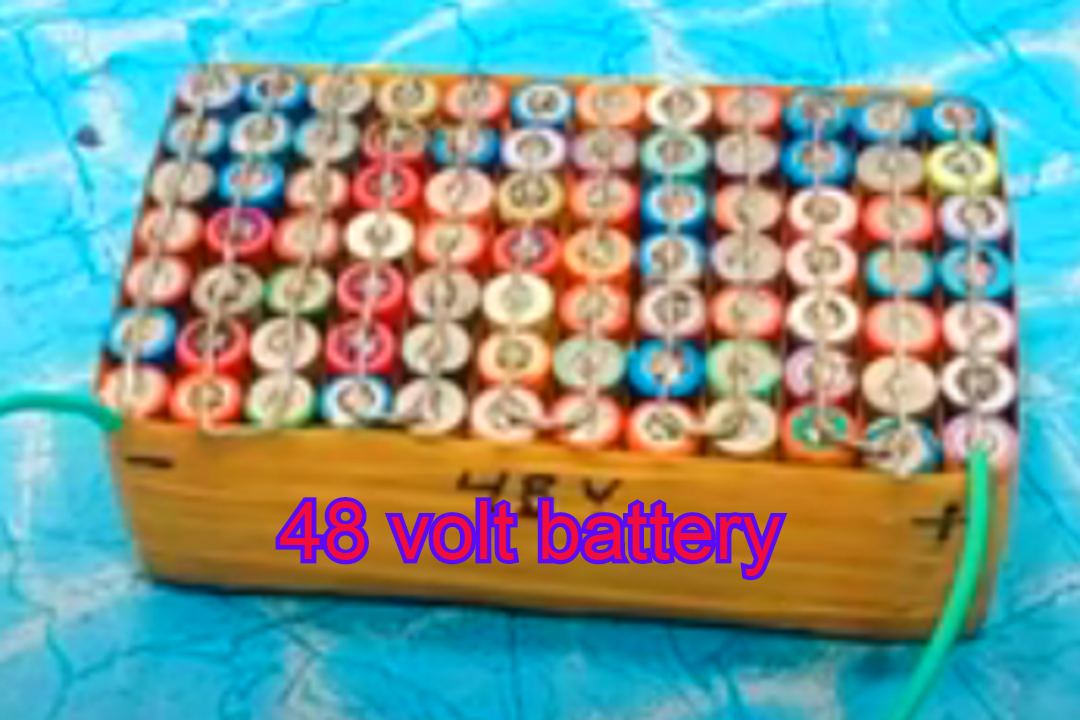 How To Make A 48v Battery For Electric Bike
