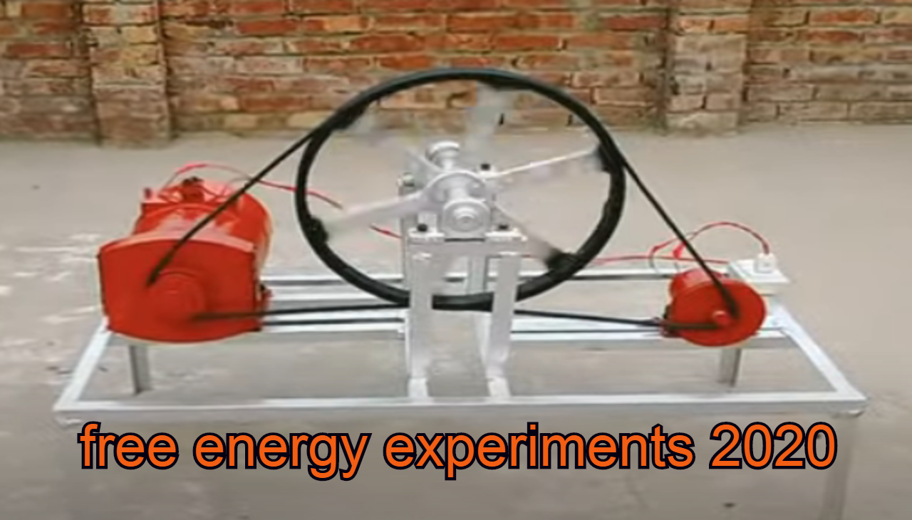 free energy experiments 2020