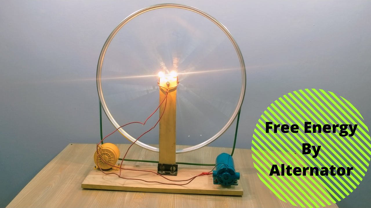 Free Energy By Alternator