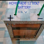 how to make a 12 volt battery at home