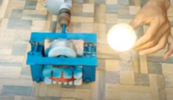 How To Make A 230v Electricity Generator At Home