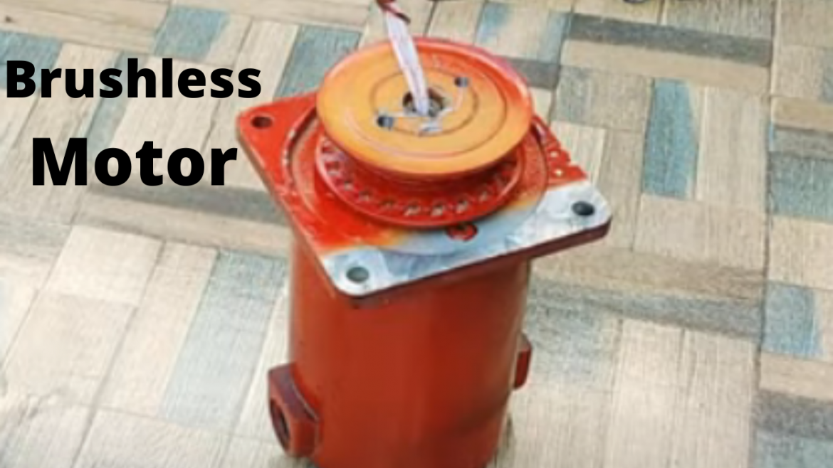 how to make a brushless motor at home